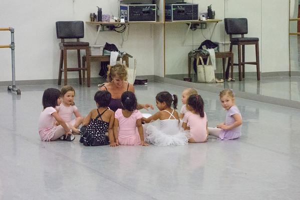 2013 09 Elizabeth Ballet Class