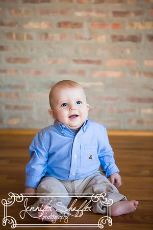 Baby Colin 6 Month highlights