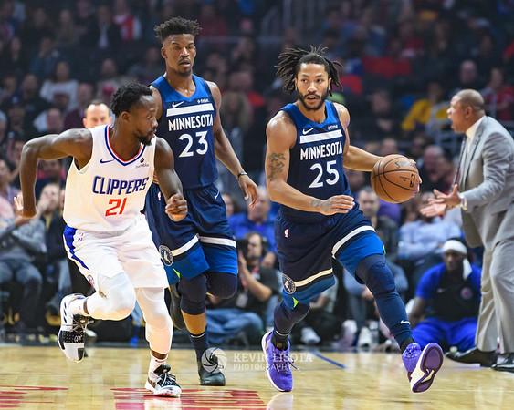 LA Clippers vs Minnesota Timberwolves - Nov 5, 2018