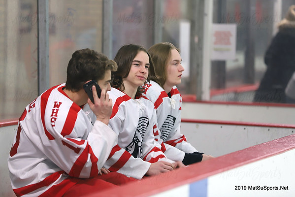 Wasilla Vs. Colony (Senior Night) V 1-25-2019