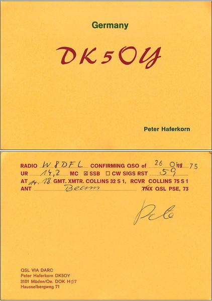 W8DFL QSL Cards - 6/20/2011