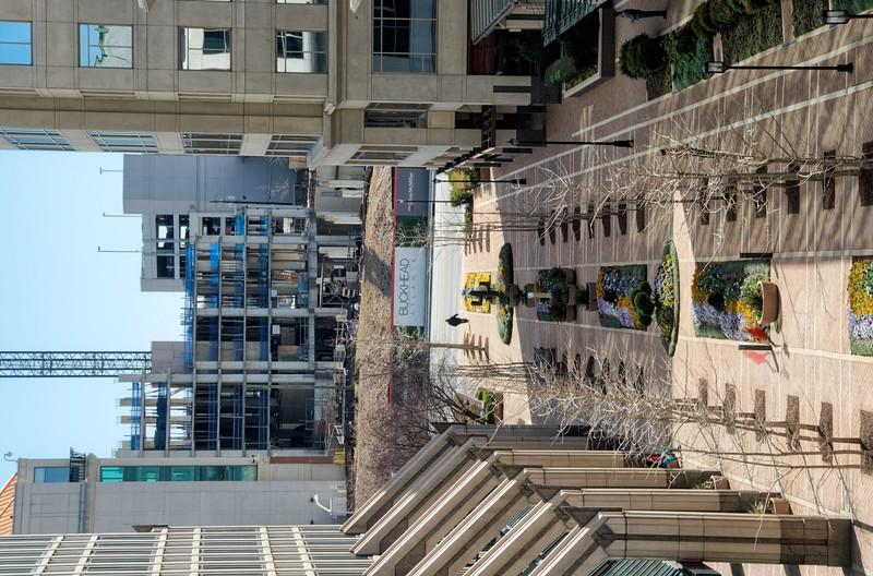 View of Buckhead Atlanta From the St Regis Hotel