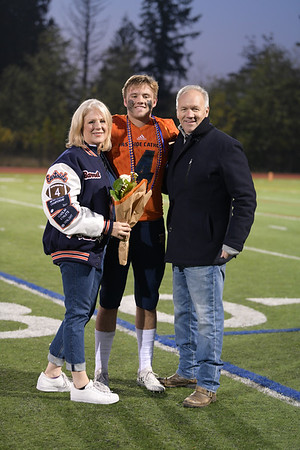 EC Football Senior Night 2018 Family photos