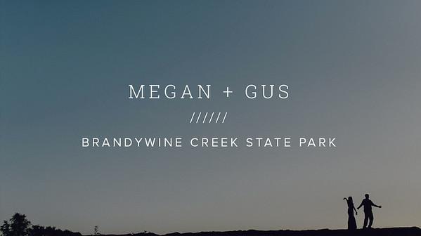 MEGAN + GUS ////// BRANDYWINE CREEK STATE PARK