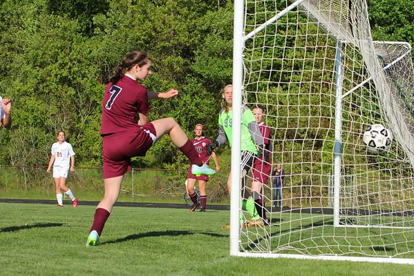 Soccer Girls vs. Parchment - KCHS - 5/21/15