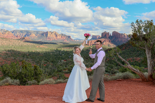 Chrystle & Fred's Sedona Wedding