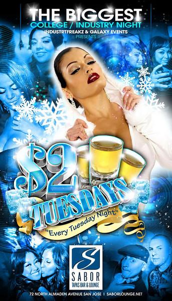 $2 Tuesdays @ Sabor Tapas Bar & Lounge 12.29.09