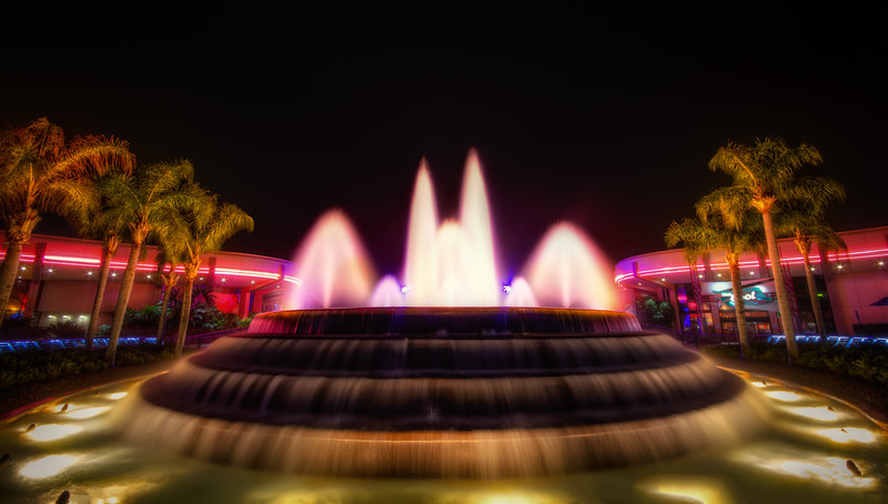 Epcot: Futureworld Fountain