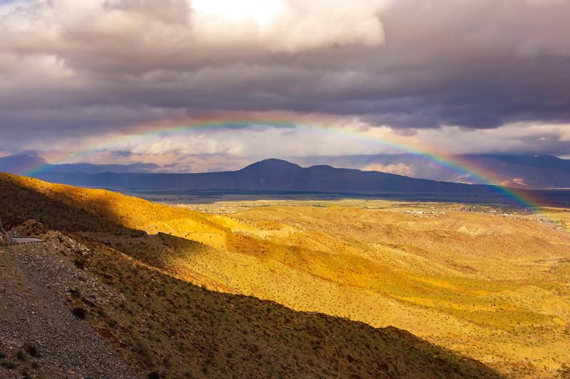 Rainbow Over B.S.