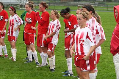 Girls Varsity Soccer - 2006-2007 - 4/30/2007 Newaygo
