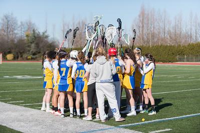 Girls Junior Varsity Lacrosse - 2015
