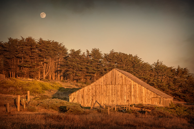 Thunder Moon, Sea Ranch, California