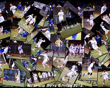 B V Soccer Medfield Collages