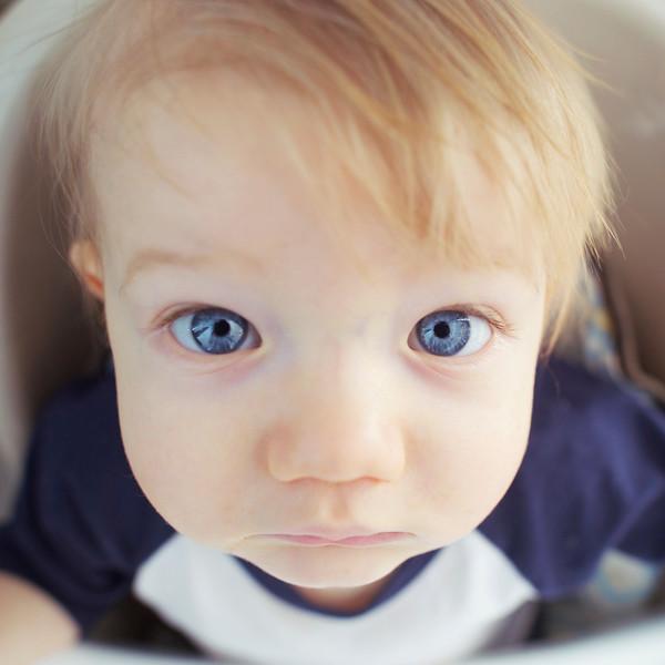 bobby has blue eyes
