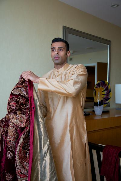 Le Cape Weddings - Indian Wedding - Day 4 - Megan and Karthik Groom Getting Ready 2.jpg