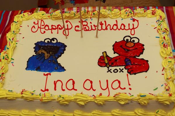 Inaaya's Birthday.