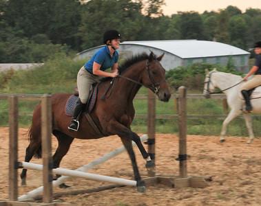 USNA Equestrians Training 100926