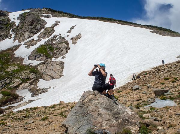 St. Mary's Glacier July
