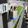 A tRusty lock doing it's duty.
