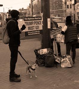Nov 21 San Francisco Anti-Trump Demonstration