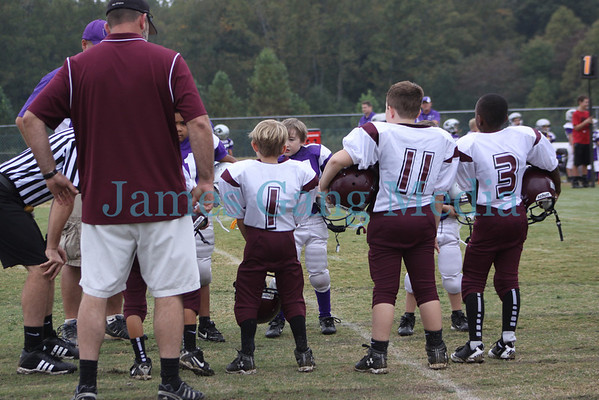 7yo War Eagles vs Union - 9/29/12