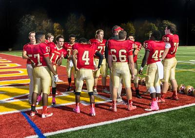 MOHS Football Senior Night - Oct. 21, 2016