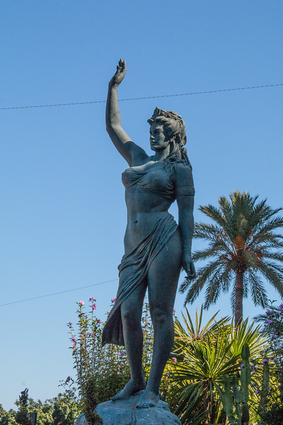 Statue of Calipso di Ceuta