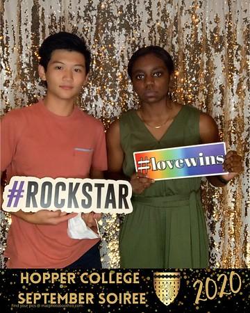 Hopper College September Soiree 2020