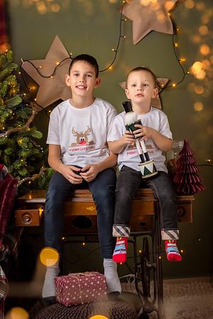 Алек и Жоро Коледа 2020