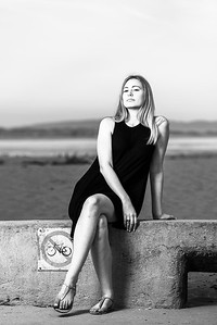 Elise (Senior Portrait Photography) @ Capitola, California