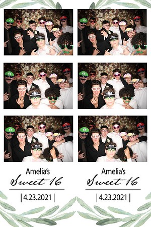 Amelia's Sweet 16