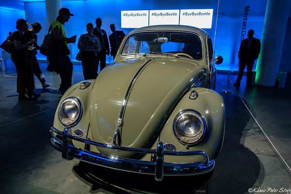 Bye Bye Beetle Event at the MoMA June 2019