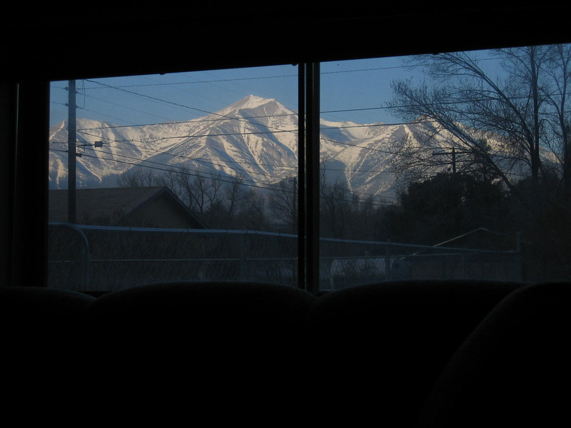 View of Mt Princeton from Den