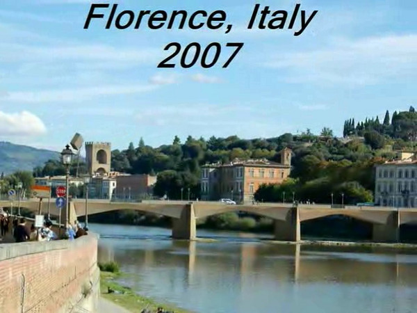 Italy 2007 (Florence Photostory Video)