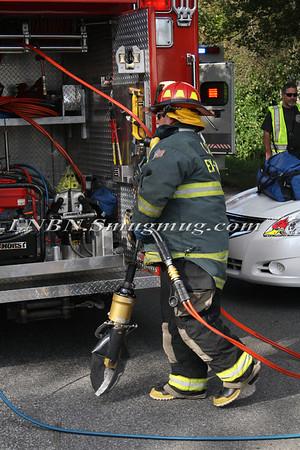 Lindenhurst F.D. MVA w/ entrapment S. 8th St & Liberty Ave 10-11-11