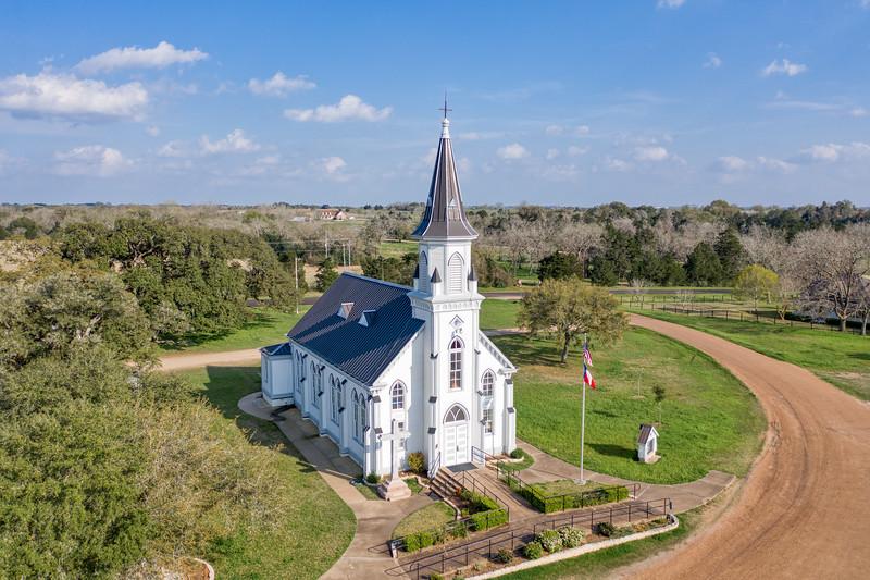 St. Cyril and Methodius Catholic Church, Dubina, TX - St. John the Baptist Catholic Church, Ammansville, TX