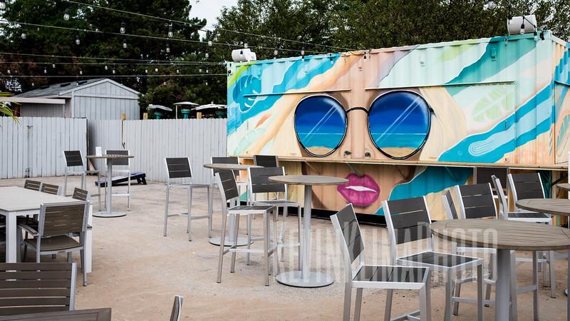 Beach Bar Art at North Ave. Beach