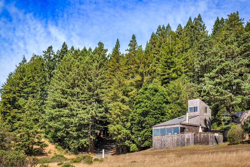 Willam Turnbull, White Fir Wood Cluster Home, Sea Ranch, California