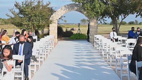 Wedding video 10-17-20