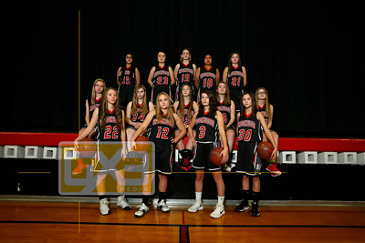 Brookwood girls' basketball GBB1819