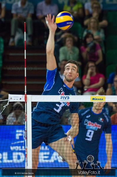 Simone Parodi [ITA] - Italia-Iran, World League 2013 - Modena