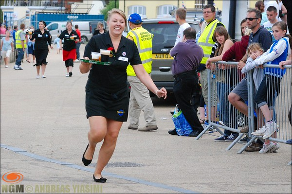 Waitress and Waiters Race