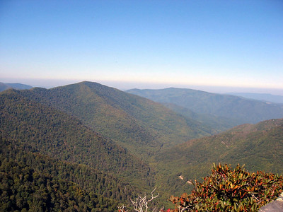 **Tennessee: Clingman's Dome (& Chimney Tops hike): Oct. 4-5, 2005 **