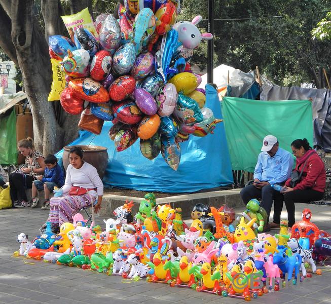 Am Zócalo, Oaxaca