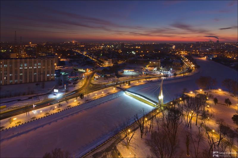 Evening Kharkov | Вечерний Харьков