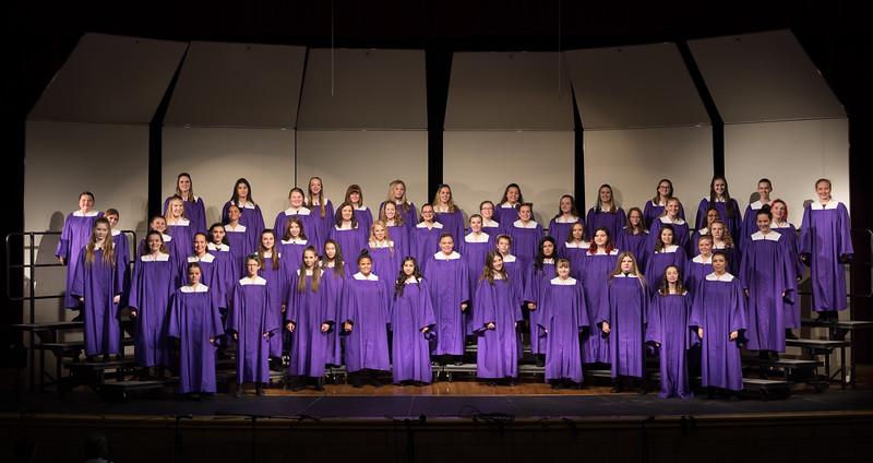 Arvada West Choir Fall Concert 2018 Part 1