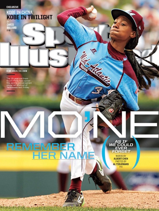 ". 8. MO�NE DAVIS <p>If we were in her shoes, we�d be cashing in so fast it would make your head spin! (5) </p><p><b><a href=""http://www.usatoday.com/story/sports/2014/08/20/mone-davis-little-league-world-series-autograph/14352429/\"" target=\""_blank\""> LINK </a></b> </p><p>   (Sports Illustrated cover)</p>"
