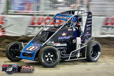 Chili Bowl Nationals - 1/13/20 (Practice) - Michael Fry