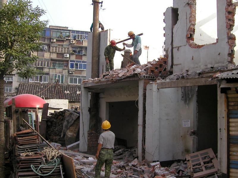 demolition crews