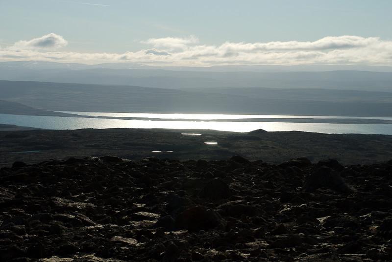Horft yfir Ísafjarðardjúp að Reykjafirði.